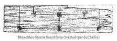 Gokstad Nine-Mens Morris Board