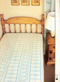 Szydełkomania: Narzuta na łóżko