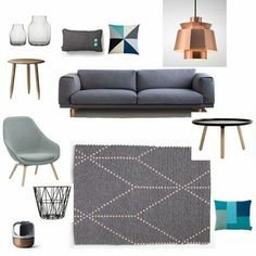 Gallop Lifestyle - Design Delicatessen | Scandinavian inspired living room