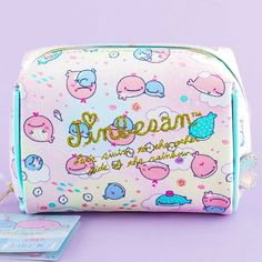 Jinbesan Kokujira's Dream Cosmetic Bag