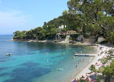 Paloma Beach on Cap Ferrat, France