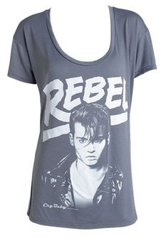 oh look. its Johnny Depp on a shirt. need.
