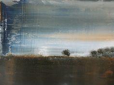 """Koen Lybaert; Oil, 2013, Painting """"landscape N° 048"""""""