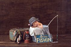 newborn fishing, Cyndi shewmake photography