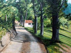 Bajada por el Camino de San Pedro. Ribadesella. Country Roads, Scenery, Exhibitions, Drive Way