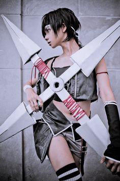 Yuffie Kisaragi by meng-ai.deviantart.com