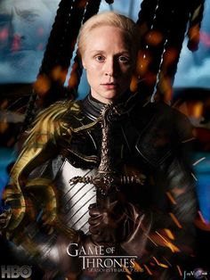 Brienne of Tarth - Love her character Season 7 Fan Mad Poster [credit: Unknown] - Winter Is Here, Winter Is Coming, Brienne Von Tarth, Lady Brienne, Ramsey Bolton, Game Of Thrones Meme, Game Of Thrones Merchandise, Jaime And Brienne, Got Characters