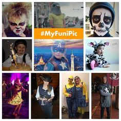 #MyFuniPic :WINNERS FOR WEEK 3  These are the 10 winners pictures for the week. They have been chosen randomly among all participants from Instagram facebook email and Twitter. If you are one them please DM so that we send can send you the picture framed by @cheerz . If you didnt win this time you will enter in the draw for the overall prize (Ipad Air) and remember that every week you can participate and win: Just post your pictures with costumes and tag them with both hashtags #MyFuniPic…