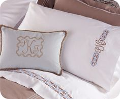 Upscale Bed Linens– Tips for stitching gorgeous machine embroidery designs on sheets