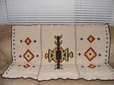 Ravelry: native american afghan free pattern