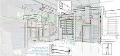 Robert Kondo — Door Tech Lab Sketches for Monsters University