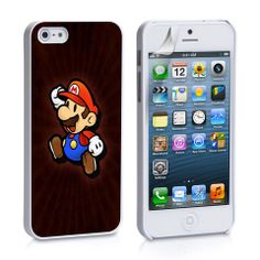 Mario Jumping iPhone 4, 4S, 5, 5C, 5S Samsung Galaxy S2, S3, S4 Case – iCasesStore