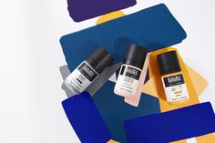 Solid, matte color that pushes the opacity boundaries and is permanent as soon as it's dry – perfect to create layered blocking Fabric Painting, Painting On Wood, Liquitex, Gouache, All The Colors, Arts And Crafts, Create, Canvas, Artwork