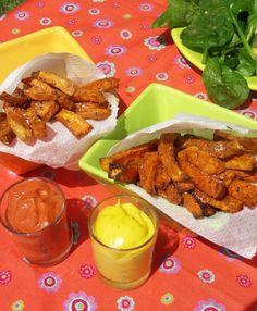Les frites tout le monde adore ça ! Surtout si elles sont saines, originales et savoureuses... Voici une recette Paléo de frites de patate douce ! :-)
