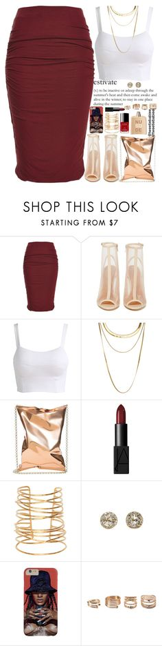 """""""school wasn't all that bad today, but i still don't wanna go"""" by tweetiebabiee ❤ liked on Polyvore featuring éS, Shoe Cult, French Connection, Anya Hindmarch, NARS Cosmetics, Rebecca Taylor, EF Collection, Chanel, Forever 21 and COSTUME NATIONAL"""