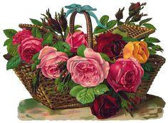 Art Vintage Flowers \ Винтажные цветы. Обсуждение на LiveInternet - Российский…