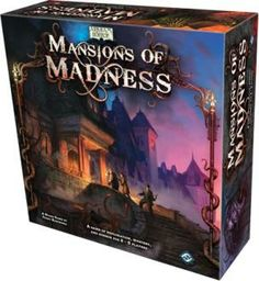 Mansions of Madness, core Game, 7.4 BGG rating.