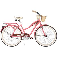 26 Huffy Panama Jack Womens Cruiser Bike, Pearl Pink