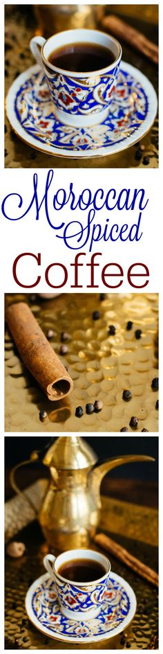 Boost your traditional morning coffee with a hit of warm, fragrant Moroccan spices. Moroccan spiced coffee is exotic but still easy to make and delicious. thehungrytravelerblog.com