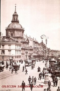 El Madrid de Hauser y Menet.Calle de Alcalá. 1905 | Flickr: Intercambio de fotos