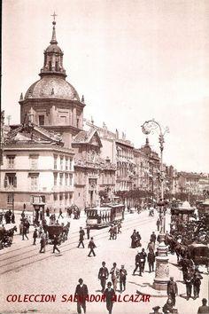 El Madrid de Hauser y Menet.Calle de Alcalá. 1905 | Flickr: Intercambio de fotos