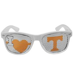 "Checkout our #LicensedGear products FREE SHIPPING + 10% OFF Coupon Code ""Official"" Tennessee Volunteers I Heart Game Day Shades - Officially licensed College product Maximum UVA/UVB protection Flex hinges for comfort and durability Perforated lenses allow you to see Tennessee Volunteers I Heart design - Price: $17.00. Buy now at https://officiallylicensedgear.com/tennessee-volunteers-i-heart-game-day-shades-chgd25w"