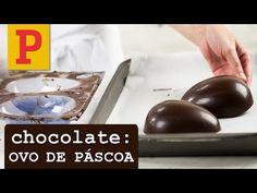 Veja como fazer ovo de páscoa de chocolate
