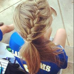 Cross country hair