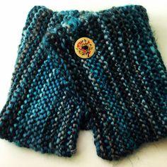 Otro cuello tejido con lana Borgo y a dos agujas