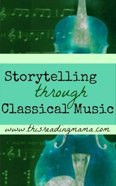 Storytelling through Classical Music- includes a FREE printable sponsored post This Reading Mama Preschool Music, Music Activities, Leadership Activities, Group Activities, Music Lesson Plans, Music Lessons, Singing Lessons, Middle School Music, Rhapsody In Blue