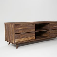 ++ Vintage Media Cabinet. Loving all the mid-century furniture