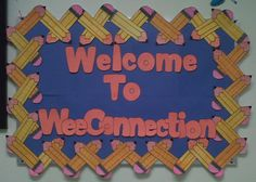 back to school bulletin boards | Preschool and Kindergarten Back To School Bulletin Board Idea