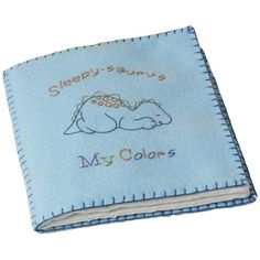 Bucilla Cute-A-Saurus Quiet Book Stamped Cross Stitch Kit