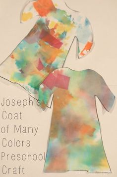 Beautiful and fun craft for preschoolers to make to remember the story of Joseph