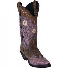 52137 Laredo Women's Miss Kate Western Boots - Pink www.bootbay.com