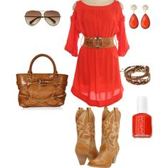 Love this whole outfit! Especially the dress and the boots, I want to find boots like these!