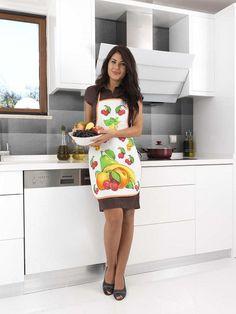 Фартук кухонный из хлопка и полиэстера KARNA DAMLA V5 от Karna (Турция) - купить по низкой цене в интернет магазине Домильфо