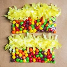 DIY fringe treat and favor bags, perfect for kid's birthday parties!!