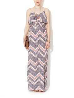 Ruffle Top Maxi Dress by Avaleigh on sale now on Gilt.