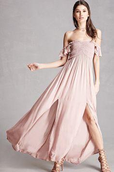 Boho Me M-Slit Midi Dress
