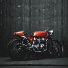 combustible-contraptions:Honda 750 Cafe Racer | Super Sport | Twinline