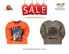 #Boys long sleeve T-shirts from #Bóboli with 50% #discount! Shop now at: www.kidsandchic.com/brands/boboli-clothes #tshirt #sale #rebajas #kidsandchic #kidsboutique #barcelona #castelldefels #shoponline