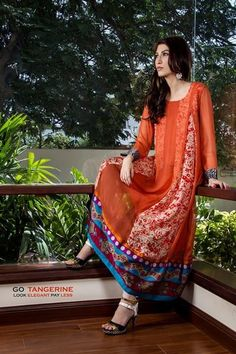 Casual Wear Dresses 2014 for Pakistani Casual Wear, Pakistani Outfits, Pakistan Wedding, Pakistani Clothing, Long Kurtis, Ethnic Outfits, Desi Clothes, Dresses 2014, Little Girl Dresses