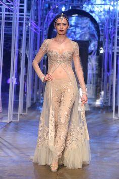 Maybe too much skin? / Tarun Tahiliani at Aamby Valley Bridal Delhi 2013 -12