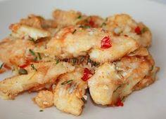 Salt and Pepper Fish Fillet Cod Grouper Tilapia