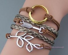 Bracelet The Lord of the Rings Ring Arrow by lovelychristmasgift, $7.99
