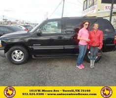 https://flic.kr/p/JeVSJa | Happy Anniversary to Amanda on your #Chevrolet #Tahoe from David Herrera at Auto Center of Texas! | deliverymaxx.com/DealerReviews.aspx?DealerCode=QZQH