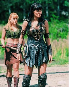 Photo of xena for fans of Xena & Gabrielle 6633006 Xena Warrior Princess, Cosplay Outfits, Cosplay Ideas, Badass Women, Actors & Actresses, Lucy Lawless, Wonder Woman, Costumes, Hercules