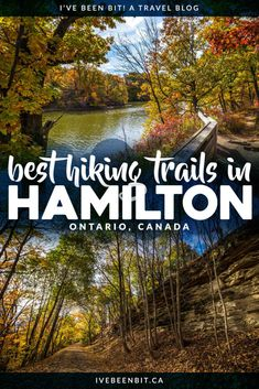 Hamilton, Ontario, Canada is a hiker's paradise! If you love waterfalls, lookouts & being in nature, you'll adore this list of the best Hamilton hiking trails! Includes Dundas Peak, Webster's Falls, Tew's Falls, Albion Falls & more!   #Ontario #Canada #Hiking   Hiking trails in Hamilton   Hikes in Hamilton   Things to Do in Hamilton   Walking trails in Hamilton   Where to hike in Ontario I Ontario Hiking Trails I Ontario Travel I Hike Ontario I Walking paths in Ontario   IveBeenBit.ca Canada Travel, Travel Usa, Canada Trip, Albion Falls, Cool Places To Visit, Places To Go, Ontario Travel, Visit Canada, Best Hikes