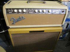VINTAGE 1963 FENDER BASSMAN 6G6B GUITAR AMP BLONDE ORIGINAL HEAD | eBay